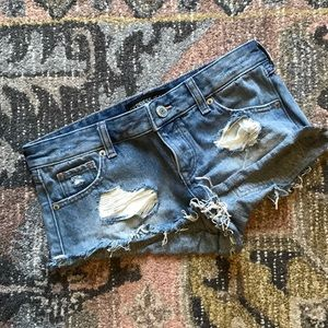 🌿 Women's Express distressed cutoff Jean shorts